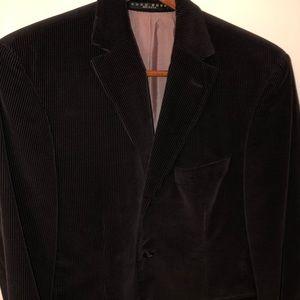 Hugo Boss Merlot Corduroy Slim Fit Blazer. Sz: 38S